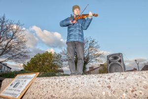 DSC_3528 VIOLIN on plinth
